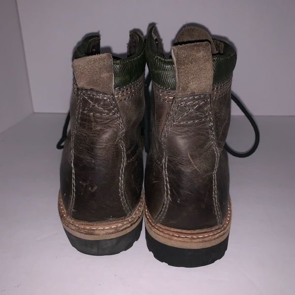 d54c76962da Fossil Leather Ankle Boots
